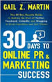 30 Days to Online PR and Marketing Success cover